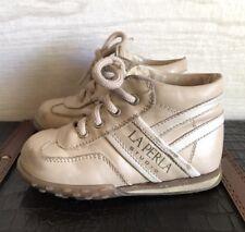 La Perla Studios Baby Walking Shoe Size 5 Newborn Lace Up Shoes