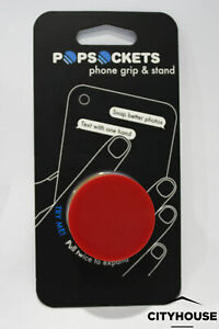 PopSockets Single Phone Grip Red PopSocket Universal Phone Holder