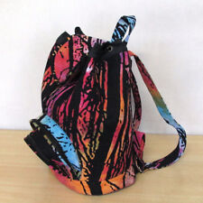 Men Women Cotton Tie Dye Bags Indian Backpack Hippie Mandala Unisex Fashion Bags