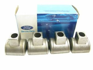 (4) NEW GENUINE OEM Ford 3.8L 232 V6 Valve Rocker Arms Fulcrum Seats F4DZ6A528A