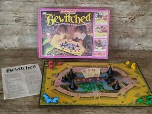 VINTAGE WADDINGTONS BEWITCHED FAMILY BOARD GAME RETRO 100% COMPLETE