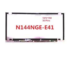 """ChiMei Innolux N144NGE-E41 14.4"""" HD LED LCD Screen Panel For Toshiba U840W U845W"""