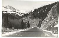 RPPC Postcard Loveland Pass CO Colorado