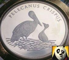 More details for 1986 rare 30th preserve wwf nature diamond finish medallion dalmatian pelican