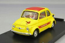 Brumm 1/43 Fiat Abarth 695SS ASETTO CORSE Bianco / Rosso Japan LTD BRBz002A