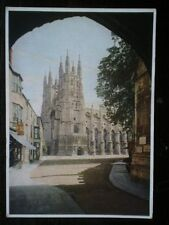POSTCARD KENT WEST FRONT CANTERBURY CATHEDRAL - MEDICI SOC