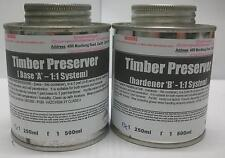 Epoxy Timber Preserver (1:1 ratio) - 1Lt kit (FREE FREIGHT)