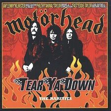 Tear Ya Down: The Rarities by Motörhead CD 2 Discs Sanctuary new sealed