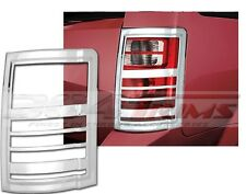 FITS CHRYSLER TOWN & COUNTRY 2008-2010 FACTORY-FIT CHROME TAIL LIGHT TRIM 2PCS
