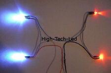 LED Slotcar und Carrera Beleuchtung xenon/rot für Scalextric und andere Systeme