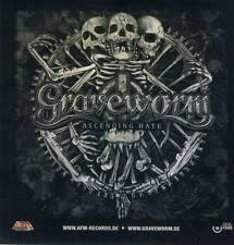 GRAVEWORM - Ascending Hate - Aufkleber / Sticker - Neu