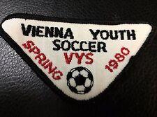 Vintage Spring 1980 VYS Vienna Youth Soccer Patch Club Virginia Sew On Kids Rare