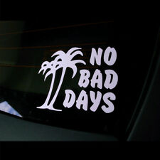 """4"""" No Bad Days Palm Tree Vinyl Decal Sticker for Car, Laptop, Motorcycle,Window"""