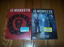 Brand New Sealed. 12 Monkeys the Complete Series so far on DVD. Seasons 1 & 2