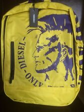 DIESEL BACKPACK YELLOW  BRAND NEW WITH TAGS Only The Brave