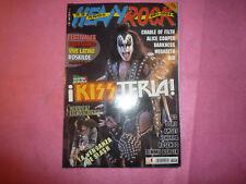 MAGAZINE HEAVY ROCK Nº 253 KISS VELVET REVOLVER ALICE COOPER / POSTER MEGADETH R