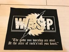 W.A.S.P. - Rare Back Patch - Judas Priest - Scorpions - Iron Maiden - Saxon