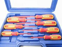 7pc VDE Insulated Electricians Screwdriver Set Screwdrivers in Case 1606