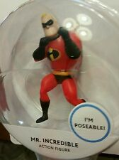 New Disney Pixar Movie Poseable Mini Deluxe Action Figure- Mr. Incredible