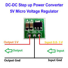 DC Boost Step Converter 1.5v 3V 3.7V 4.5V to 5V Voltage Regulator Power supply