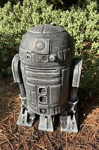 STONE GARDEN STAR WARS LARGE R2D2 STATUE DETAILED GIFT ORNAMENT