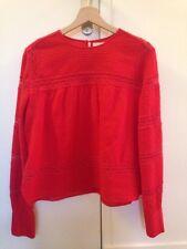 Isabel Marant blouse Rexton neuve Broderies Coton H16/17