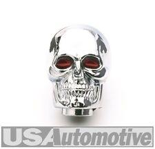 SR. Junta 9628-Chrome Skull Con Ojos Rojos Perilla de Palanca de cambios