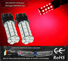 LED SMD T25 3157 P27/7W Xenon Red Car Auto Rear Tail Stop brake Light Bulbs 12V
