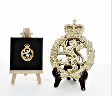 Womens Royal Army Corps (WRAC) - LARGE Solid Brass Gift Set. (14cm x 10cm)
