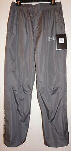 HUK Performance Fishing Camping Men Packable Rain Pants Gray Sz M NWT Waterproof