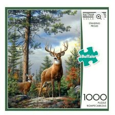 STANDING PROUD Deer Hautman Brothers Collection Buffalo 1000 PC Puzzle Complete