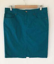Target Cotton Blend Solid Regular Size Skirts for Women