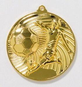 10 Fußball-Medaillen mit Deutschland-Bändern (9186g)