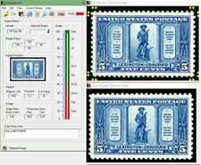 EzGrader: Stamp Grading/Centering Measurement Software