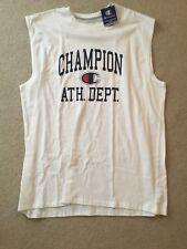 Champion Sleeveless Shirt Tee T-Shirt Logo Spell Out Large  Tall