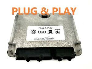 VW PASSAT 1.9 TDI AFN ECU PLUG & PLAY IMMO OFF TUNED 038906018P 0281001720