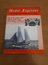 THE MODEL ENGINEER VINTAGE MAGAZINE August 7th 1958 vol 119 #2985