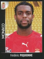 285 FREDERIC PIQUIONNE AS.MONACO WEST HAM STICKER FOOT 2008 PANINI