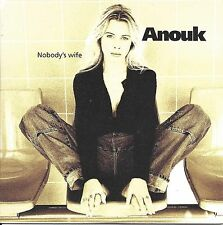 Anouk ‎– Nobody's Wife   cd single in cardboard