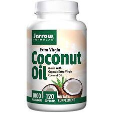 Coconut Oil, Extra Virgin, 1000 mg, 120 Softgels - Jarrow Formulas