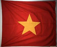 Vintage Socialist Republic of Vietnam 34.5�x41.5� Vietnamese Red Star