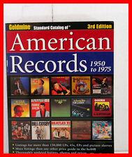 MINE D'OR STANDARD CATALOGUE DE AMERICAIN RECORDS 1950 POUR 1975 3rd EDITION TIM