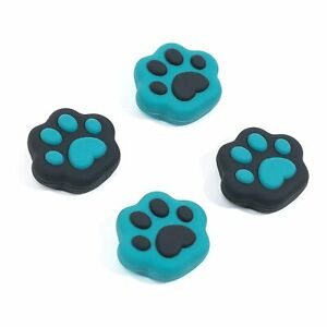 GeekShare Solf Silicone Cat Paw Joystick Thumb Grip Set for Switch and Lite 4Pcs