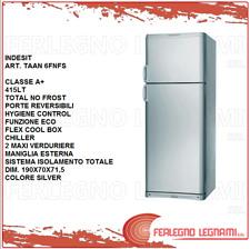 FRIGORIFERO DOPPIA PORTA CLASSE A+ 415 LT TOTAL NO FROST INDESIT TAAN 6FNFS
