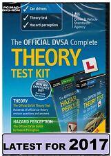 Official DSA Theory Test Kit 2017 PC MAC DVD Hazard Perception DVLA CD 'kit