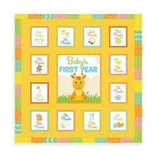 Unisex Baby's First Year Memory Book Album : Unisex Baby Record Books