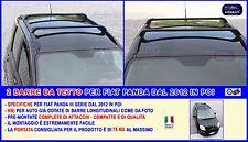 Barre Portatutto per Fiat Panda dal 2012 Kit Portabagagli da tetto portapacchi