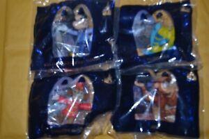 McDonalds 50th anniversary sealed set 1-4 mickey mouse  timothy abu flounder