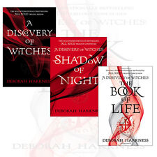 All Souls Trilogy by Deborah Harkness Collection 3 Books Set Book of Life