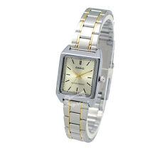 -Casio LTPV007SG-9E Ladies' Metal Fashion Watch Brand New & 100% Authentic